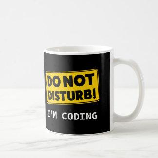 Caneca De Café Eu estou codificando
