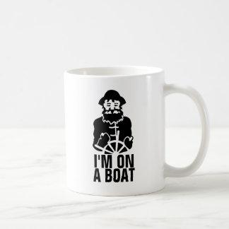 Caneca De Café Eu estou em um barco
