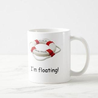 Caneca De Café Eu estou flutuando