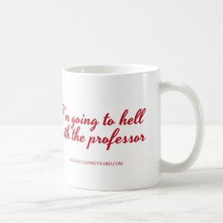 Caneca De Café Eu estou indo para o diabo com o professor