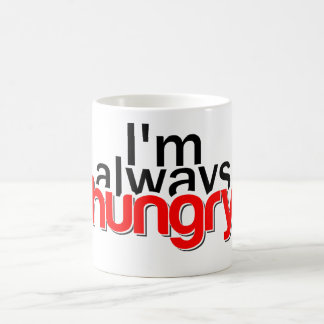Caneca De Café Eu estou sempre com fome