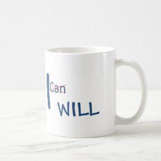 Caneca De Café Eu farei uma diferença