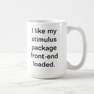 Caneca De Café Eu gosto de minha parte frontal do pacote de