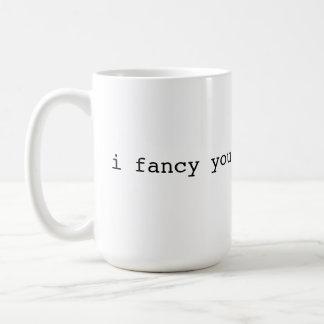 Caneca De Café Eu gosto de você - frase do Británico