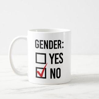 Caneca De Café Eu não escolho nenhum género - -