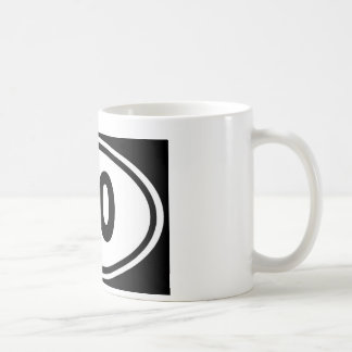 Caneca De Café Eu não funciono 0,0 corredor do ódio do design