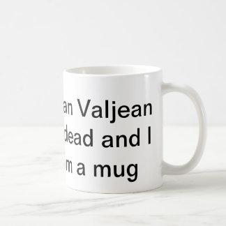 Caneca De Café eu não posso acreditar que o brim valjean está