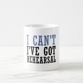 Caneca De Café Eu não posso - teatro