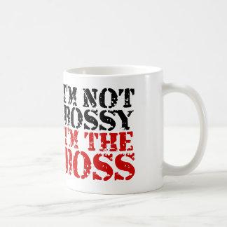 Caneca De Café Eu não sou bossy mim sou o chefe