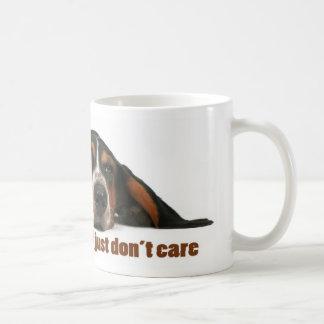 Caneca De Café Eu não sou preguiçoso, mim apenas não me importo