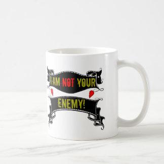 Caneca De Café Eu não sou seu inimigo