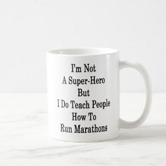 Caneca De Café Eu não sou um super-herói mas eu ensino a pessoas
