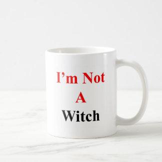 Caneca De Café Eu não sou uma bruxa