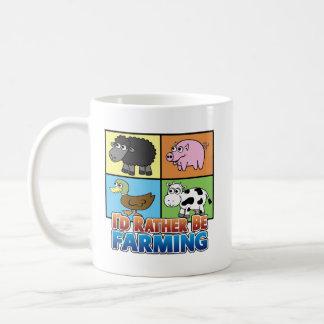 Caneca De Café Eu preferencialmente estaria cultivando!