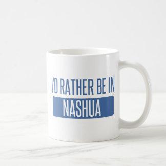 Caneca De Café Eu preferencialmente estaria em Nashua