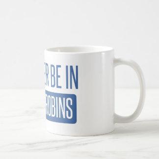 Caneca De Café Eu preferencialmente estaria em robins de Warner