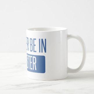 Caneca De Café Eu preferencialmente estaria em Rochester NY