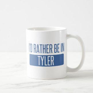 Caneca De Café Eu preferencialmente estaria em Tyler