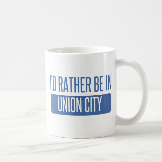 Caneca De Café Eu preferencialmente estaria na cidade CA da união