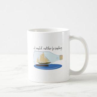 Caneca De Café Eu preferencialmente estaria navegando