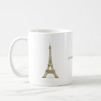 Caneca De Café Eu preferencialmente estaria no marco da torre