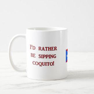 Caneca De Café Eu preferencialmente estaria sorvendo o Coquito!