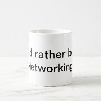Caneca De Café Eu preferencialmente seria trabalhos em rede!