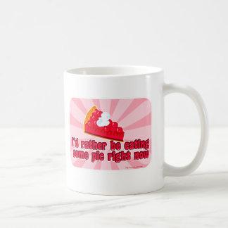 Caneca De Café Eu quero a torta!