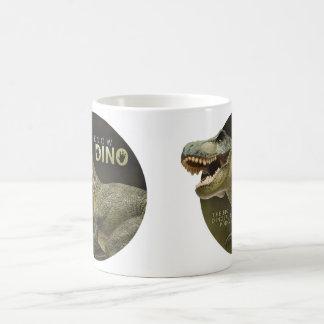 Caneca De Café Eu sei o logotipo de Dino