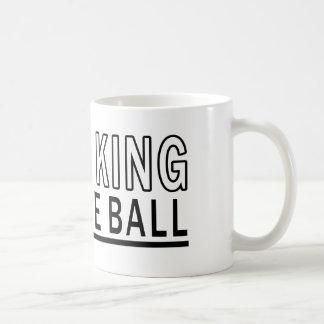 Caneca De Café Eu sou a bola do rei Bocce