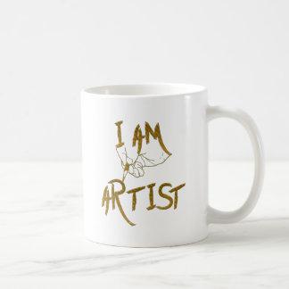 Caneca De Café Eu sou artista