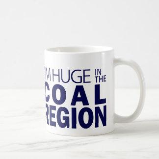 Caneca De Café Eu sou enorme na região de carvão