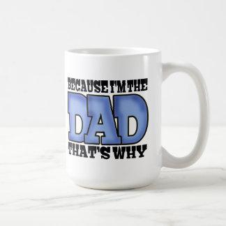 Caneca De Café Eu sou o pai
