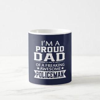 Caneca De Café Eu sou o PAI DE UM POLÍCIA ORGULHOSO