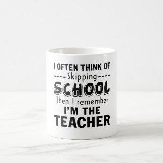 Caneca De Café Eu sou o professor