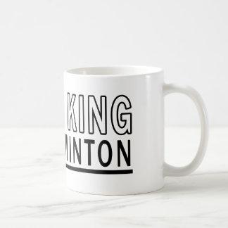 Caneca De Café Eu sou o rei Badminton