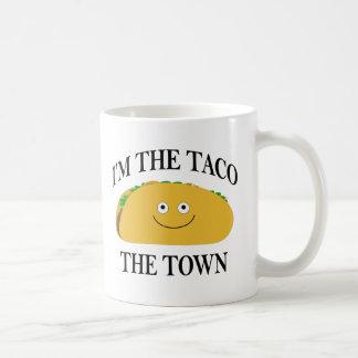 Caneca De Café Eu sou o Taco a cidade