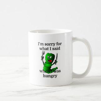 Caneca De Café Eu sou pesaroso para o que eu disse quando eu