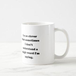 Caneca De Café Eu sou tão inteligente