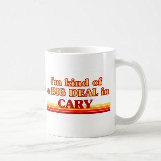 Caneca De Café Eu sou tipo de uma GRANDE COISA em Cary