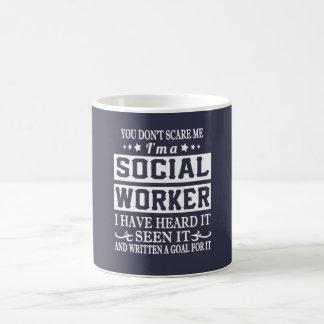 Caneca De Café Eu sou um ASSISTENTE SOCIAL
