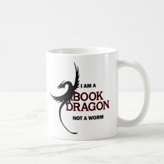 Caneca De Café Eu sou um dragão do livro não um sem-fim (impresso
