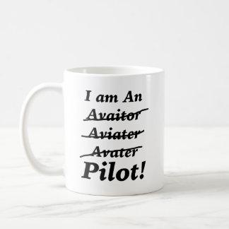 Caneca De Café Eu sou um piloto