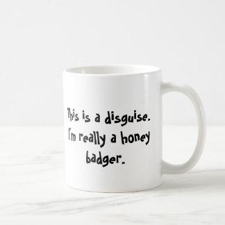 Caneca De Café Eu sou um texugo de mel