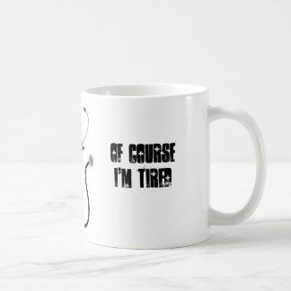 Caneca De Café Eu sou uma estudante de Medicina. Naturalmente eu