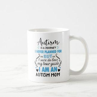 Caneca De Café Eu sou uma mamã do autismo