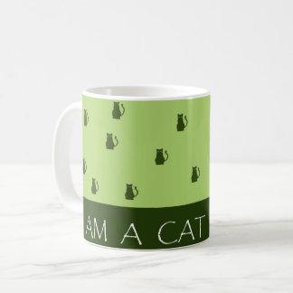 Caneca De Café Eu sou uma pessoa do gato