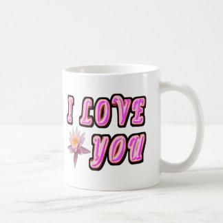 Caneca De Café Eu te amo