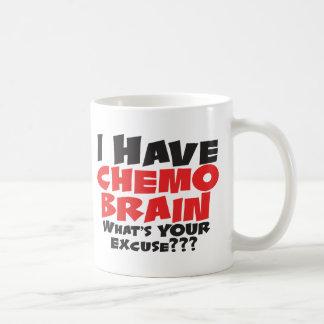 Caneca De Café Eu tenho o cérebro de Chemo