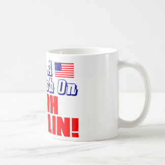 Caneca De Café Eu tenho um esmagamento em Sarah Palin!